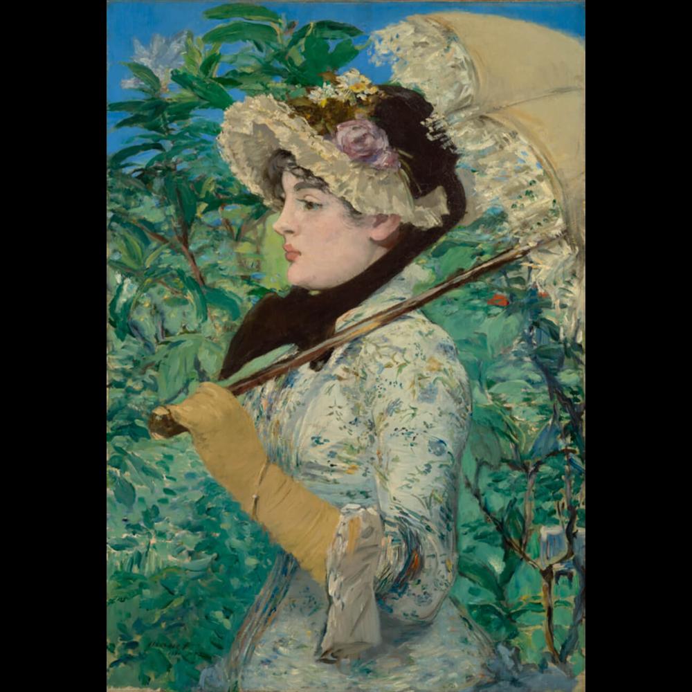 Edouard Manet - Spring
