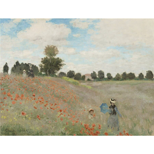 Claude Monet - Poppy Field