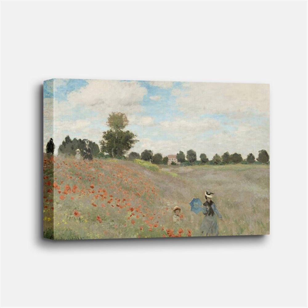 Claude Monet - Poppy Field