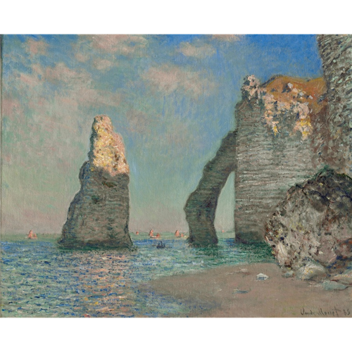 Claude Monet - The Cliffs at Etretat