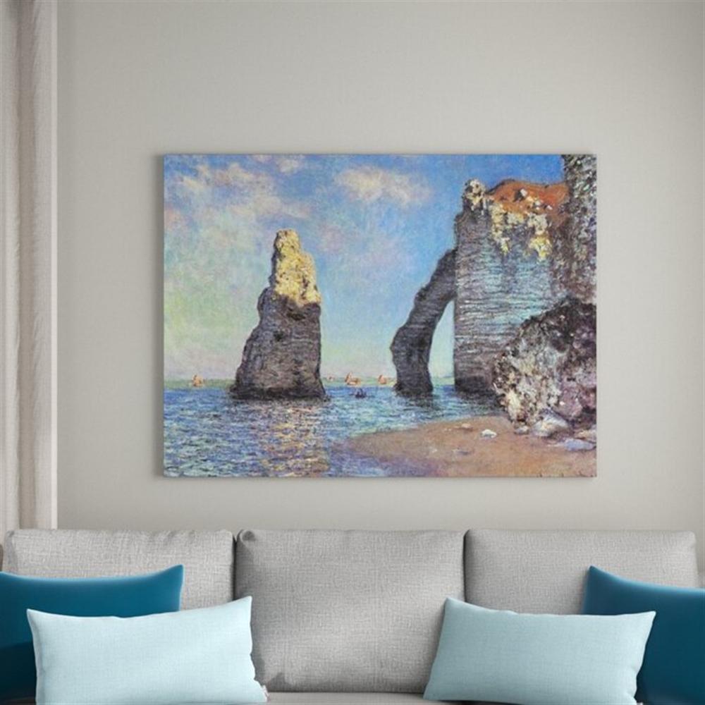 Claude Monet - The Cliffs at Etretat
