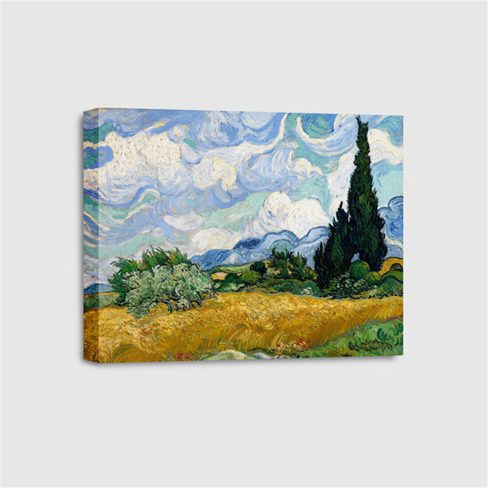 Van Gogh - Wheat Field with Cypresses