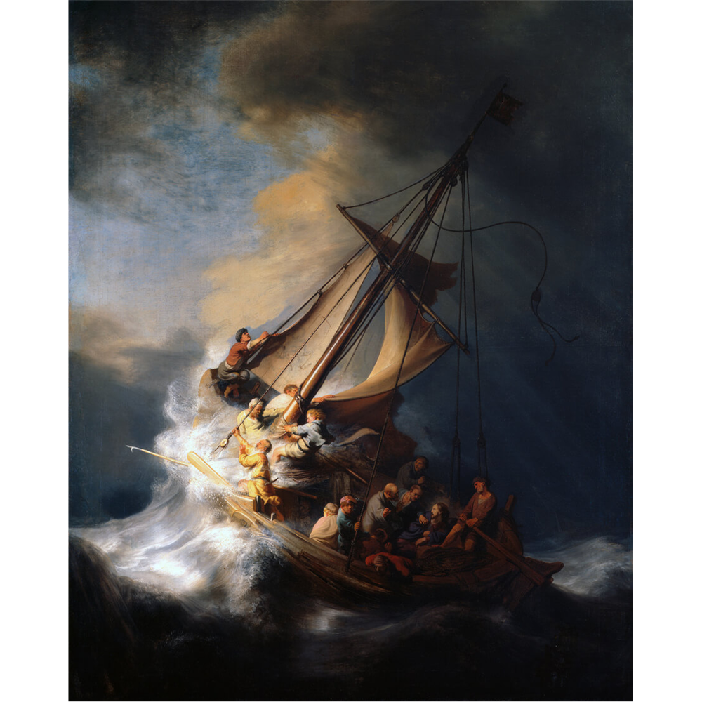 Rembrandt van Rijn - The Storm on the Sea of Galilee