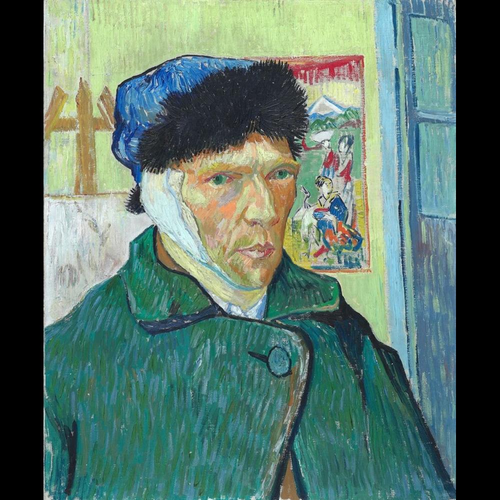Van Gogh - Self-Portrait with Bandaged Ear