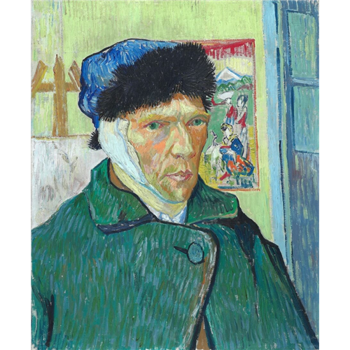 Van Gogh - Self-Portrait with Bandaged Ear