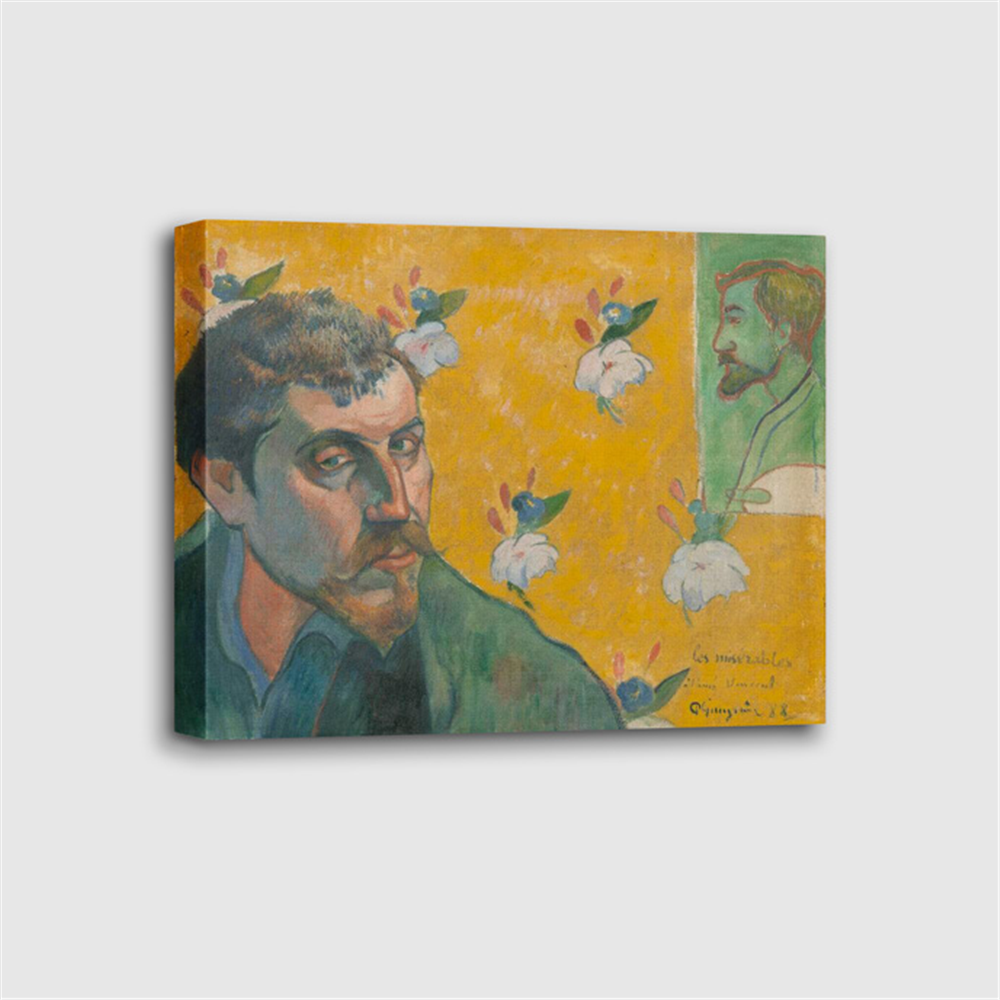 Paul Gauguin - Self-portrait , 'Les Misérables'