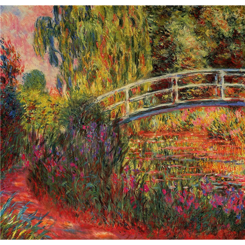 Claude Monet - The Japanese Bridge or The Lily Pond