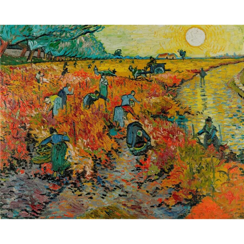 Van Gogh - The Red Vineyard