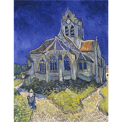 Van Gog - The Church at Auvers