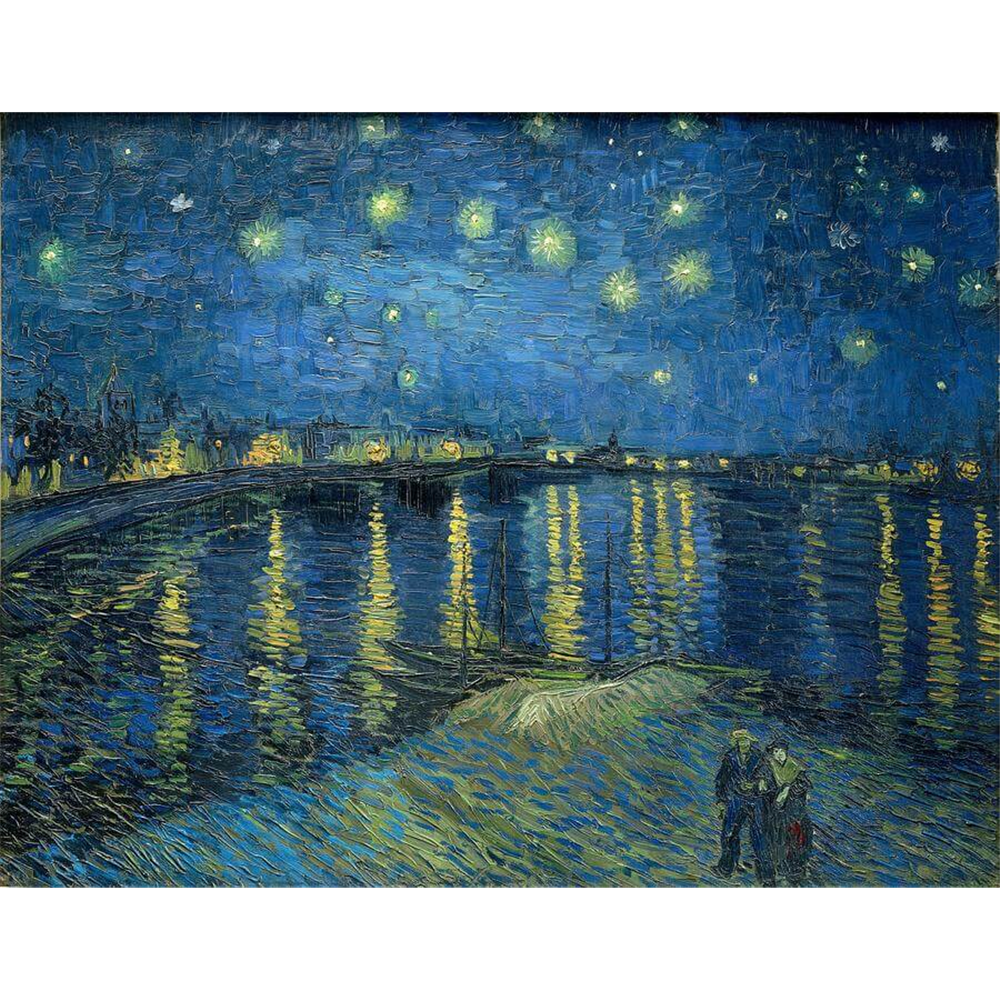 Van Gogh - Starry Night Over the Rhône