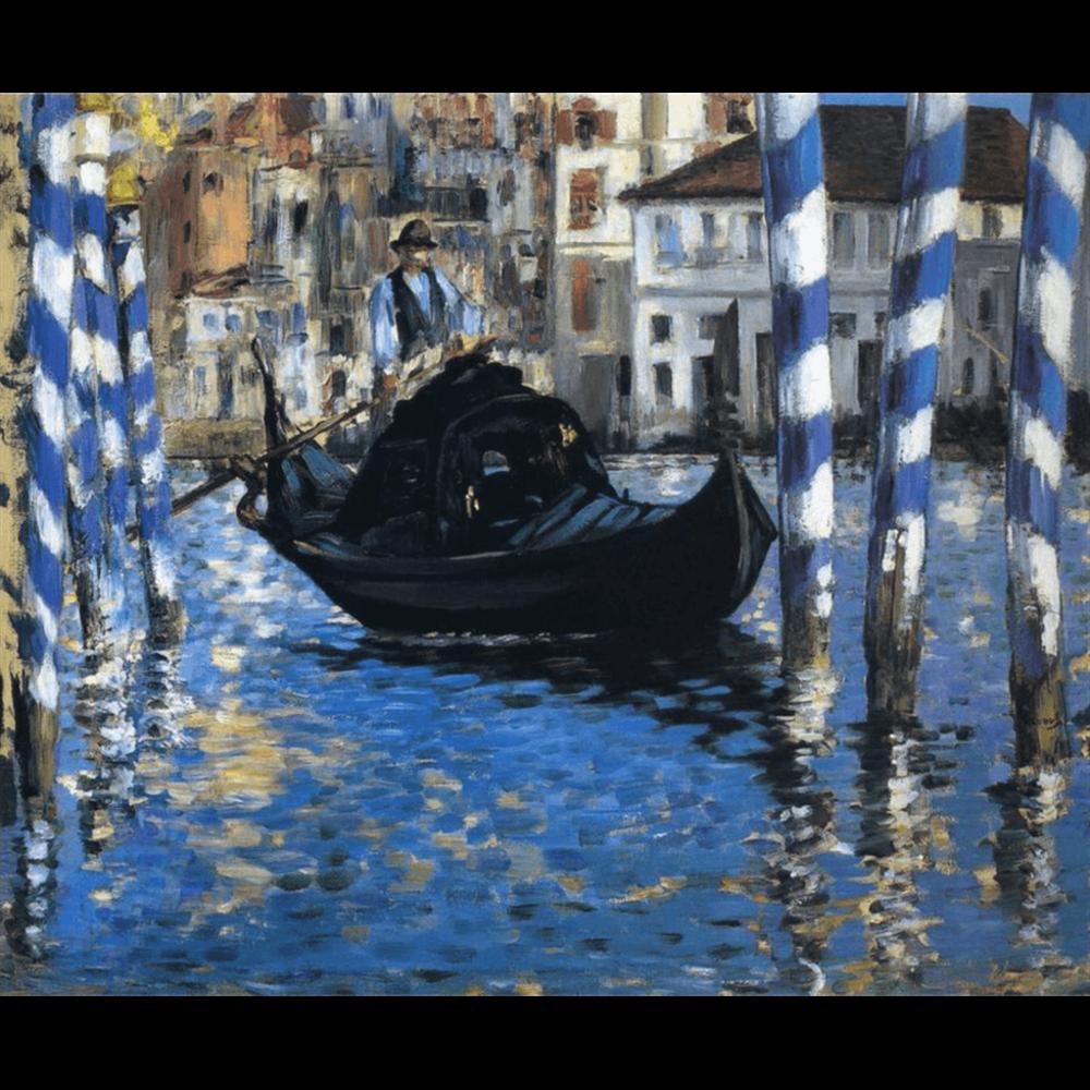 Edouard Manet - The grand canal of Venice Blue Venice