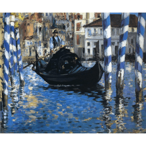 Edouard Manet - The grand canal of Venice Blue Venice