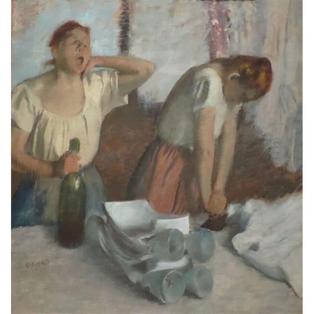 Edgar Degas - Women ironing