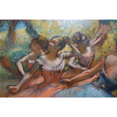 Edgar Degas - Four Ballet Dancers on Stage