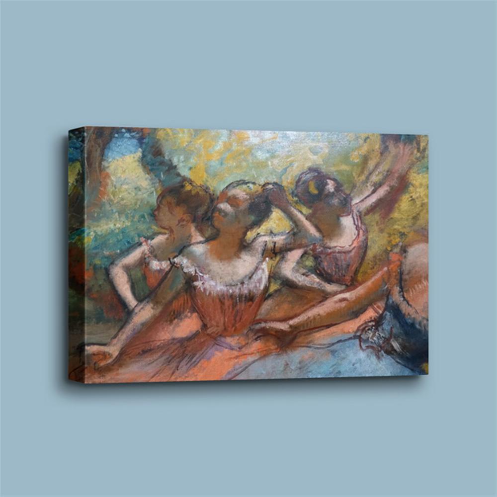 Edgar Degas - Four Ballet Dancers on Stage