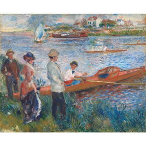 Renoir - Oarsmen at Chatou