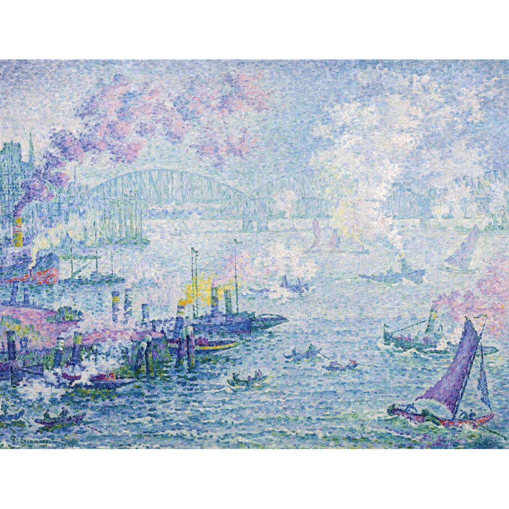Paul Signac - The Port of Rotterdam