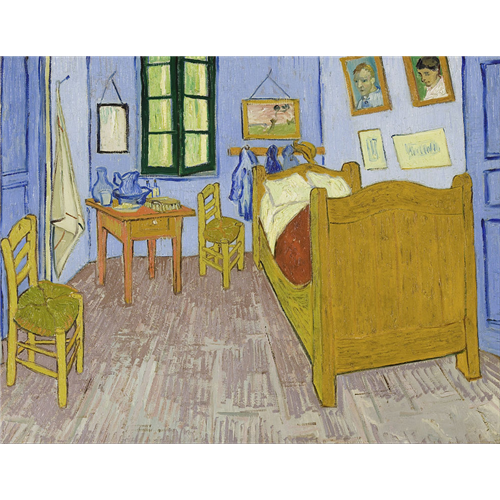Van Gogh  - Spavaća soba u Arlu