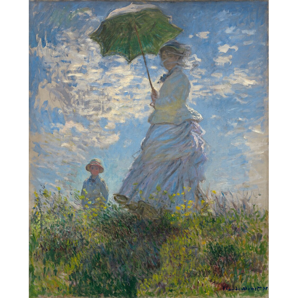 Claude Monet - Žena sa suncobranom