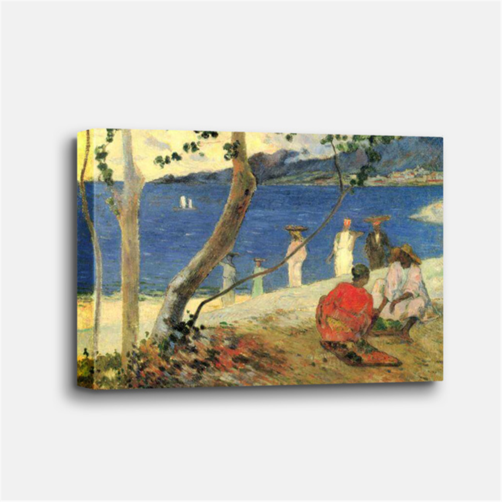 Paul Gauguin - A Seashore