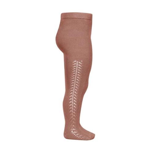 Hulahopke terakot boje rad sa strane sa obe strane nogavica