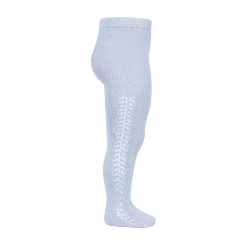Hulahopke svetlo plave boje, rad sa strane sa obe strane nogavica