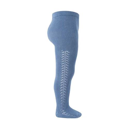 Hulahopke francusko plava boja, rad sa strane sa obe strane nogavica