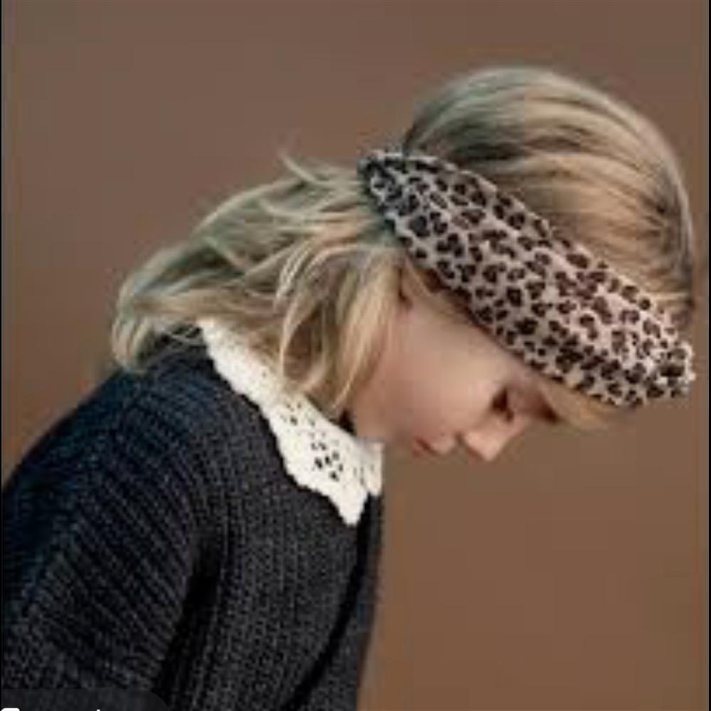 Traka za kosu leopard uzorak
