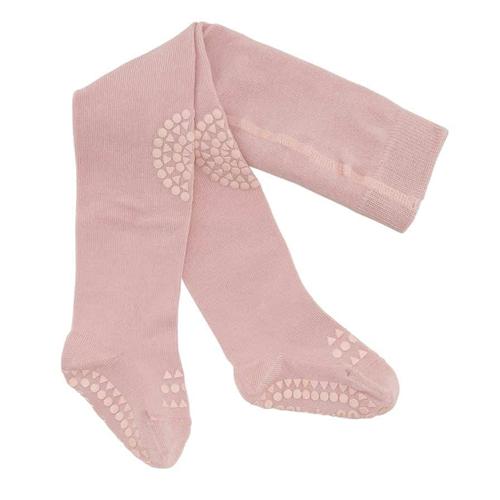 Hulahopke za bebe roze boje sa zaštitom na kolenima i tabanima