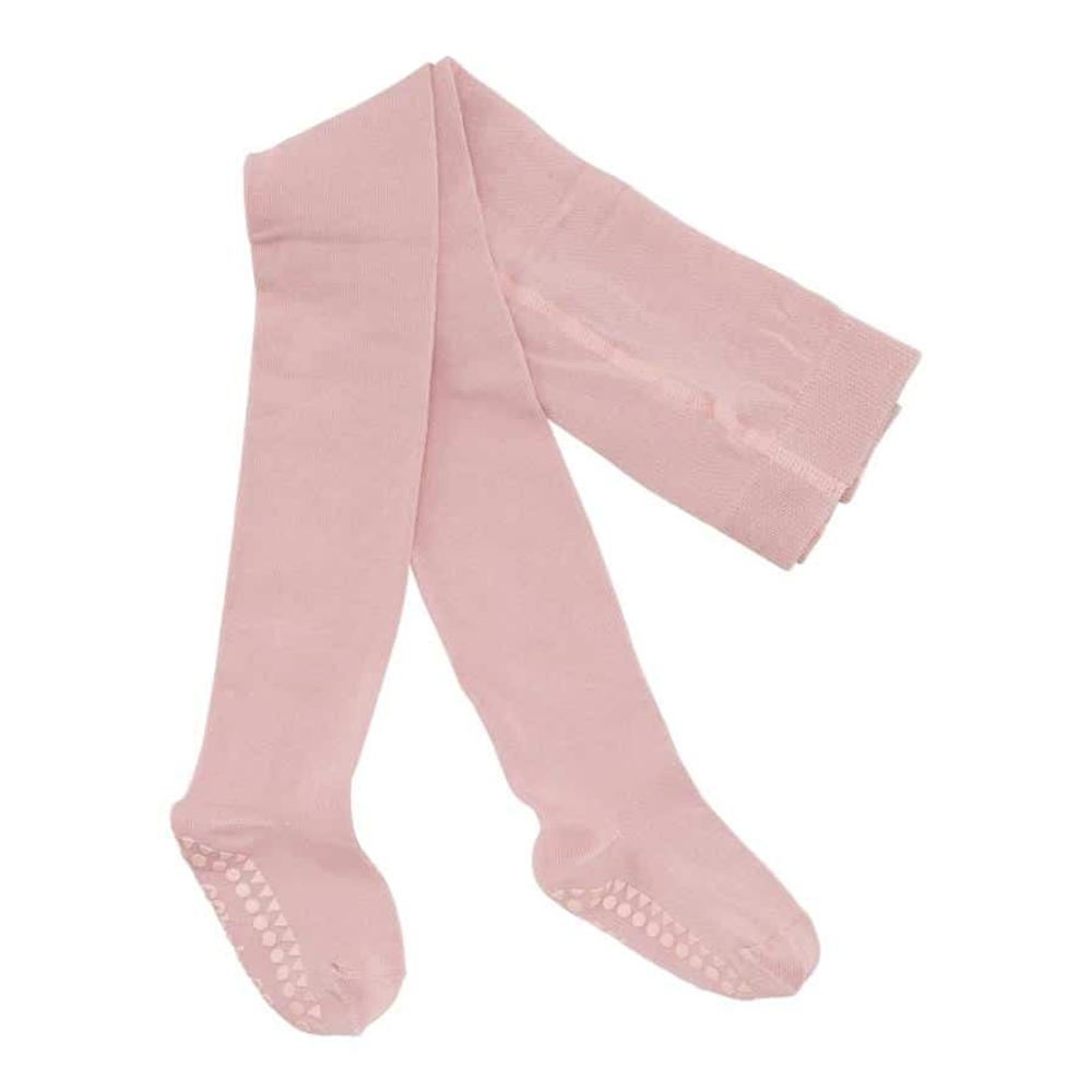 Hulahopke za decu roze boje sa zaštitom na tabanima