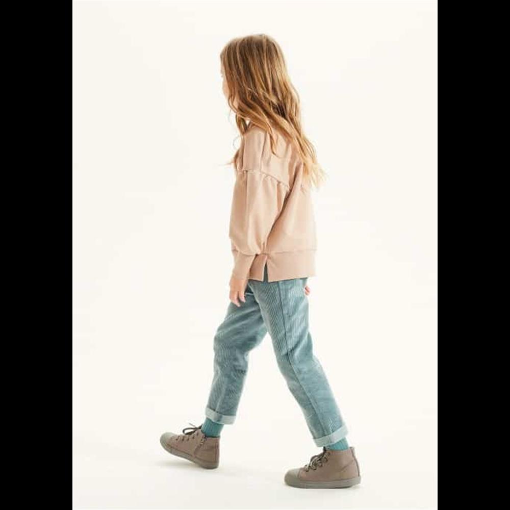 Boja svetlo plava/somotne mekane pantalone unisex