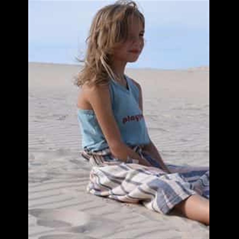 Široke udobne pantalone od pamuka za devojčice