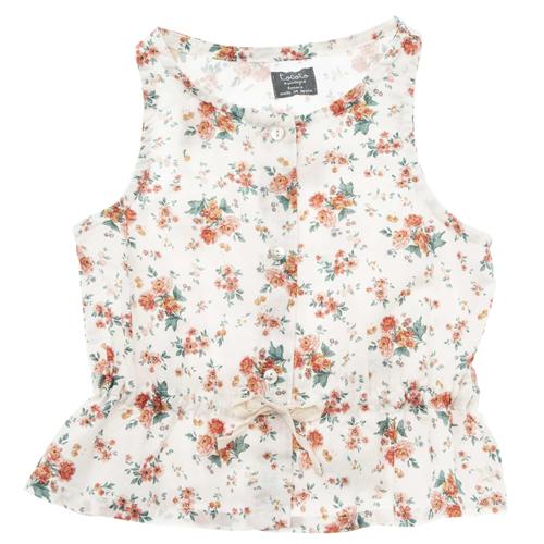 Lagana letnja majica bez rukava za devojčice-NEMA NA STANJU