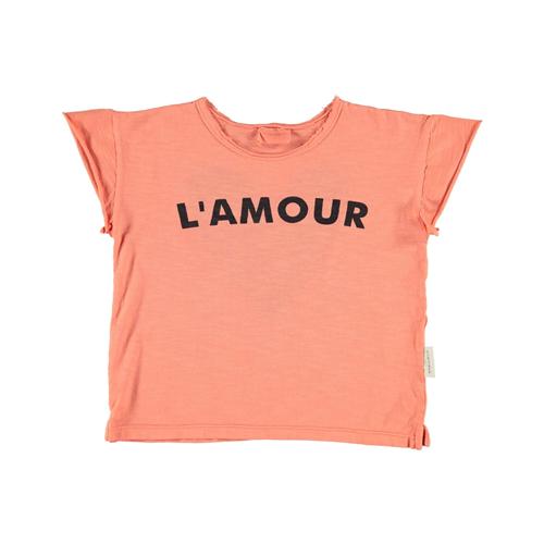 Majica od organskog pamuka sa srcem na ledjima za devojčice