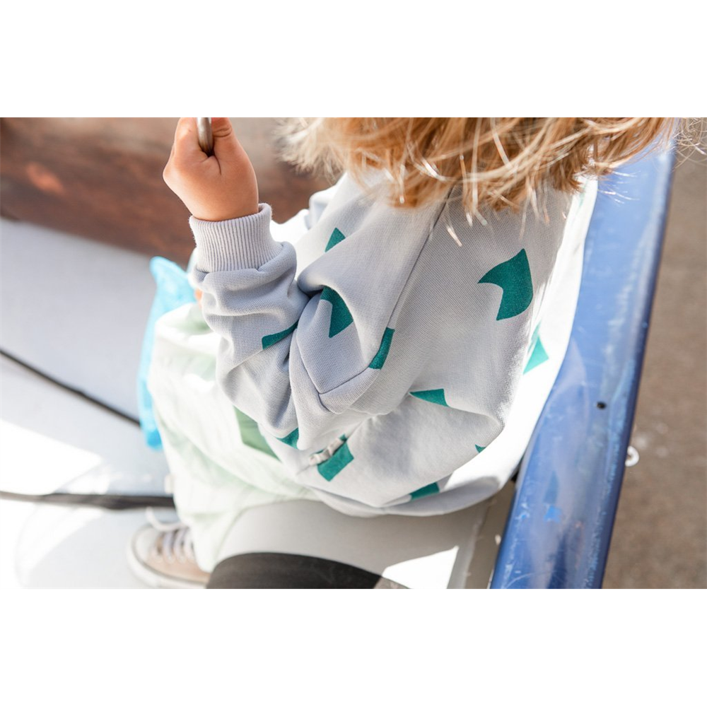 Duks od organskog pamuka i za dečake i za devojčice sa printom zastavica