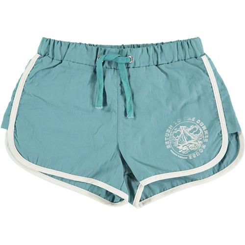 Moderan, udoban kupaći šorts za dečake zeleno/plave boje
