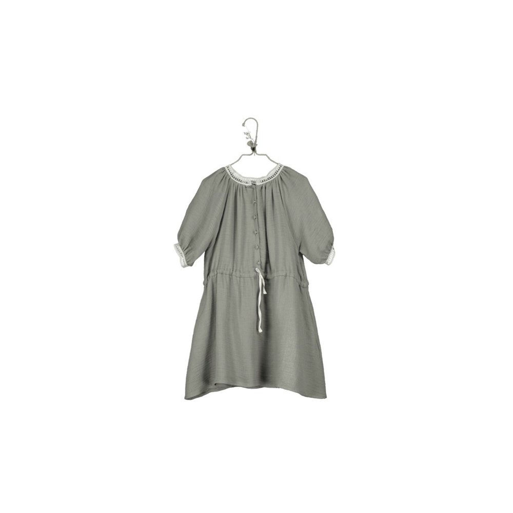 Haljina za devojčice sa raglan rukavima od organskog pamuka