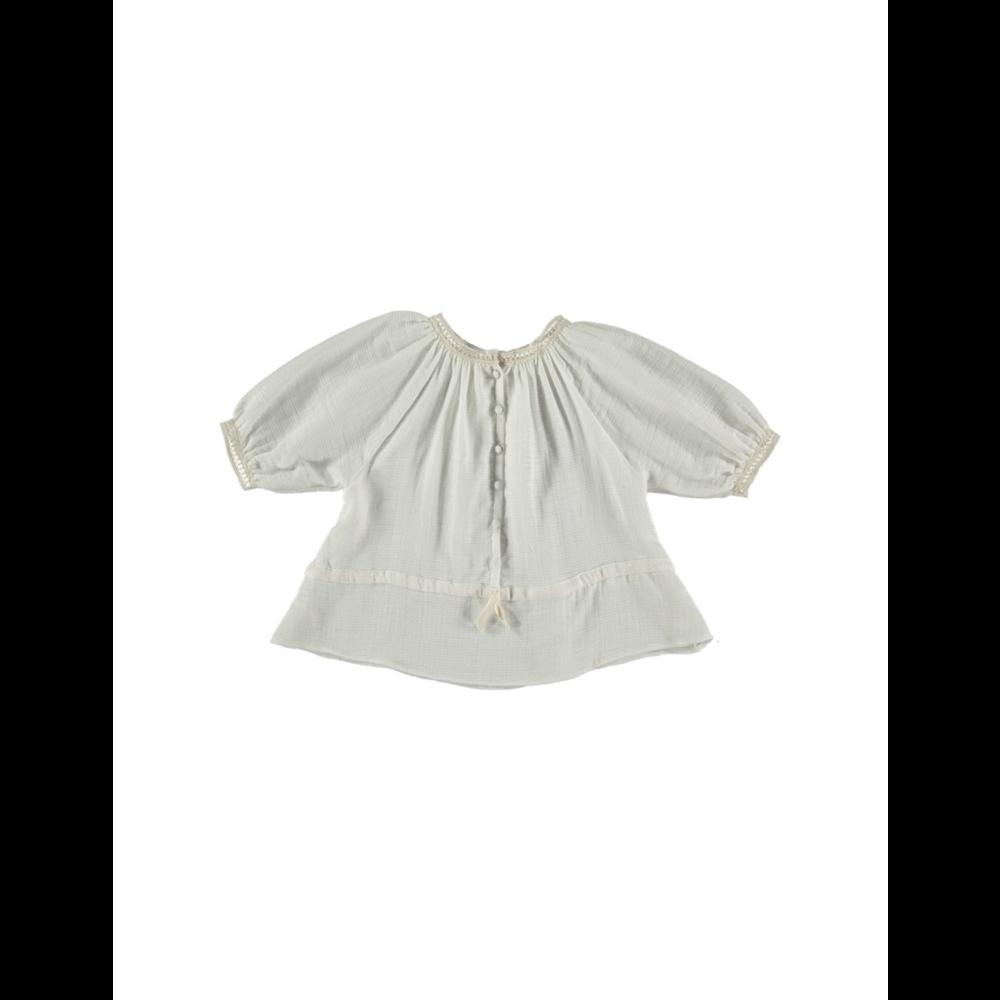 Bluza od organskog pamuka krem boje