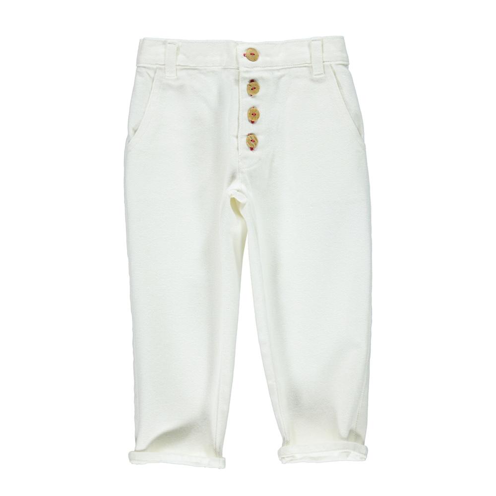 Pantalone od belog kepera unisex