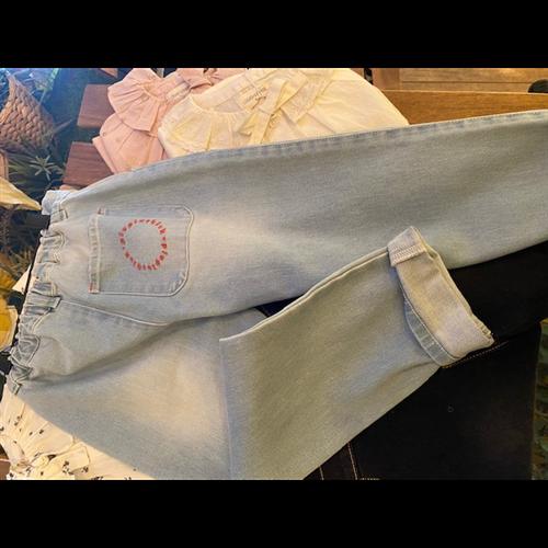 Denim pantalone - unisex