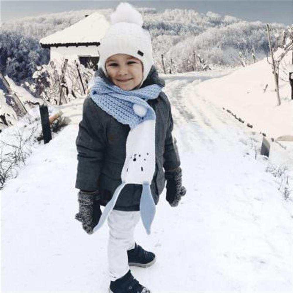 Šal Zeka:  Prelep i jedinstveni šal za hladno vreme za decu