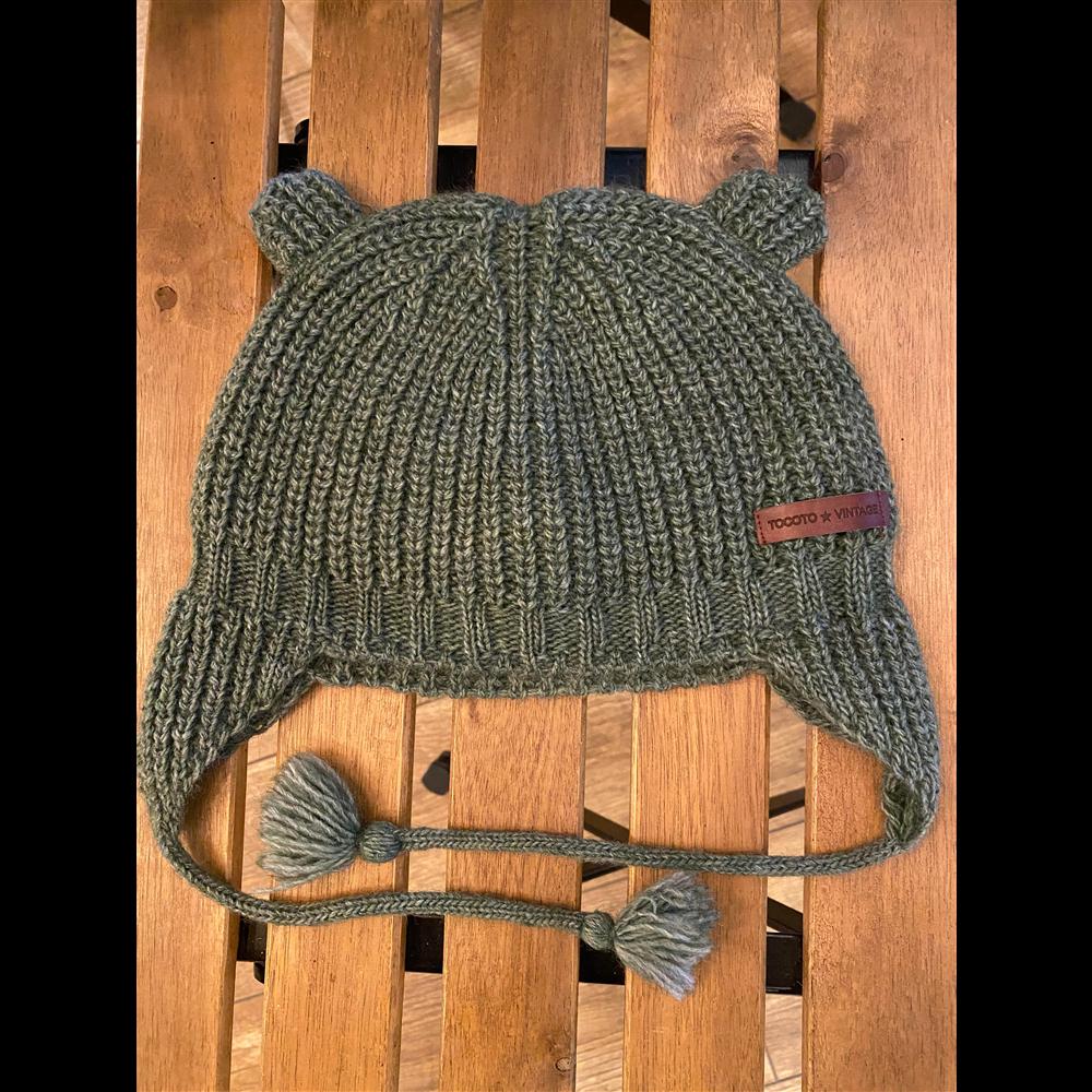 Kapa vunena tamno zelene boje