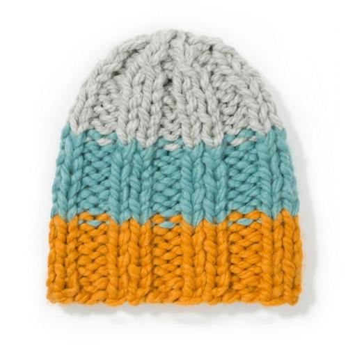 Kapa vunena ručni rad u tri boje