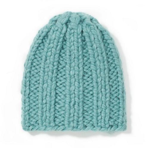 Kapa vunena ručni rad plave boje