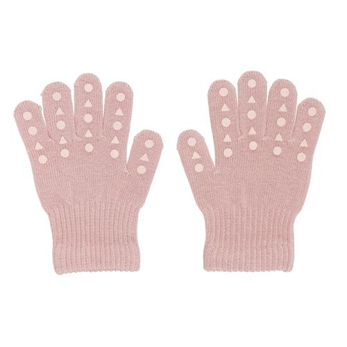 GoBabyGo rukavice sa silikonskim neklizajućim tačkicama-roze