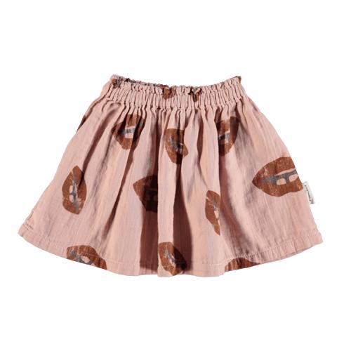 Suknja mini sa stilizovanim motivom usana-POSLEDNJI KOMAD