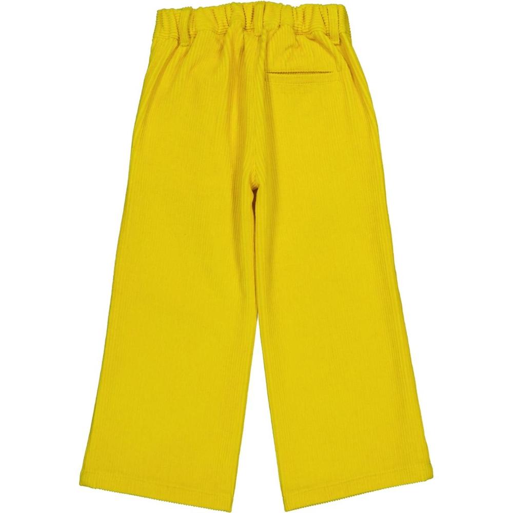 Boja toplo žuta/pantalone od mekanog somota A kroja -POSLEDNJI KOMAD
