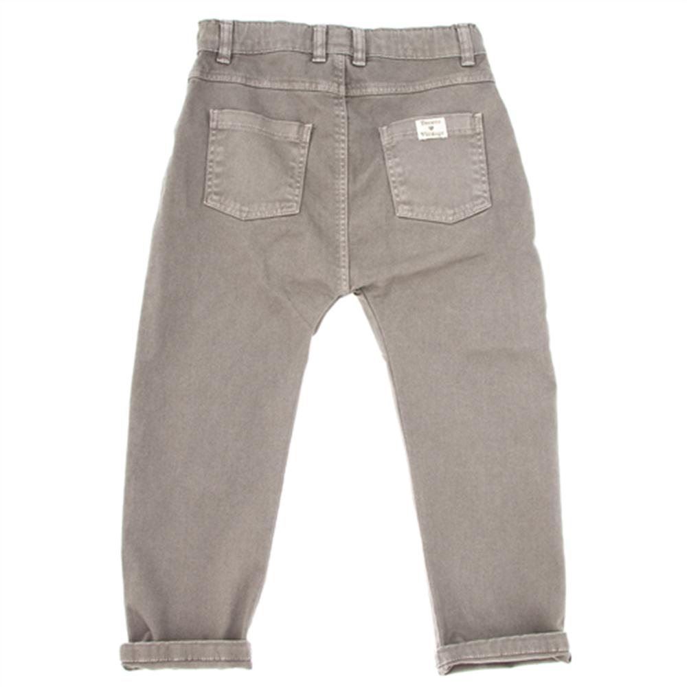 Keper sive pantalone modernog kroja za dečake