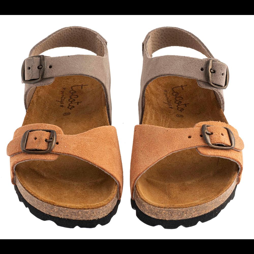 Letnje sandale u dve boje