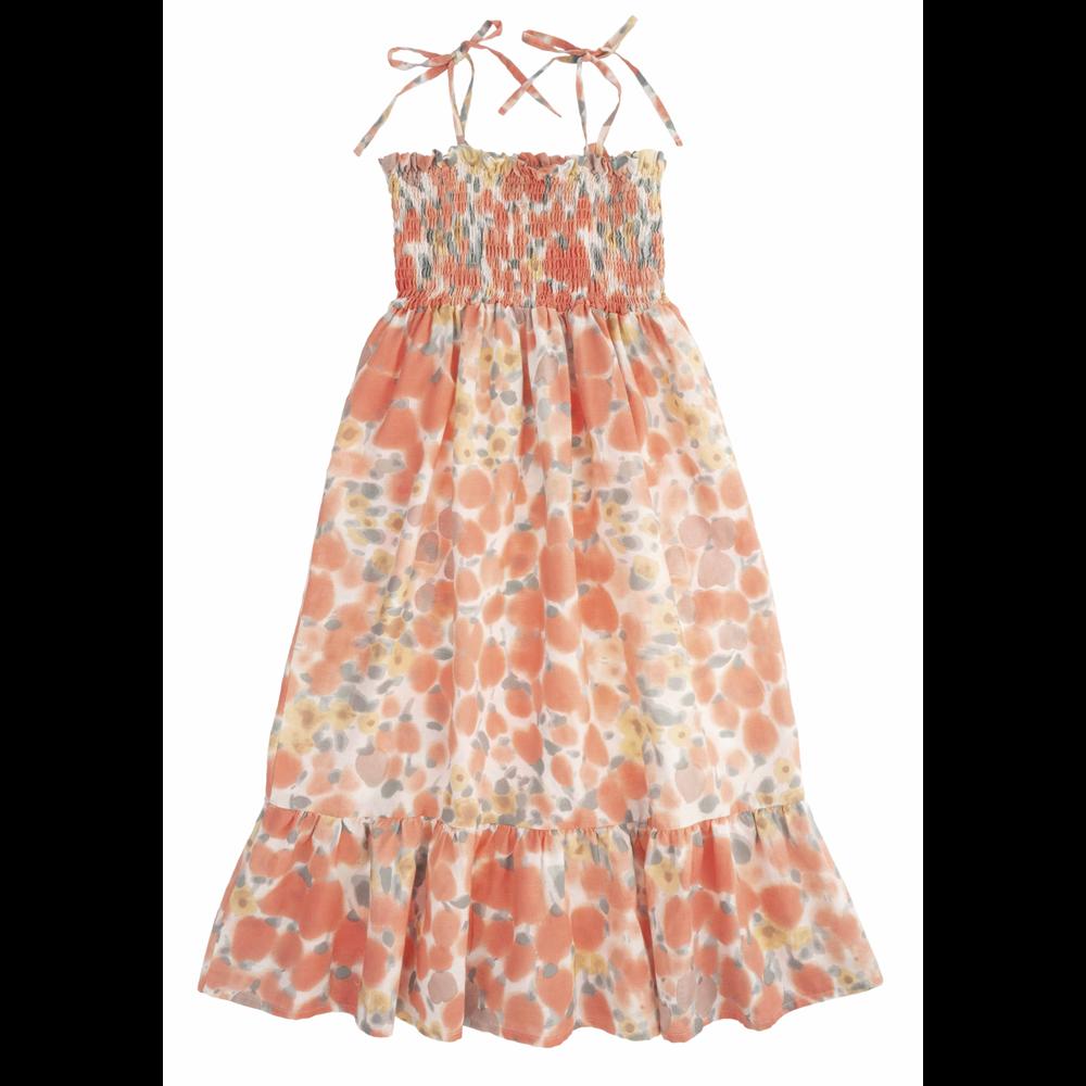 Letnja haljina na bretele za leto prelepih boja